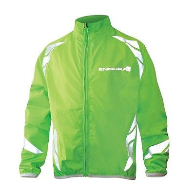 ENDURA Kid's Luminite Cycling / Outdoor Activity Jacket: Green