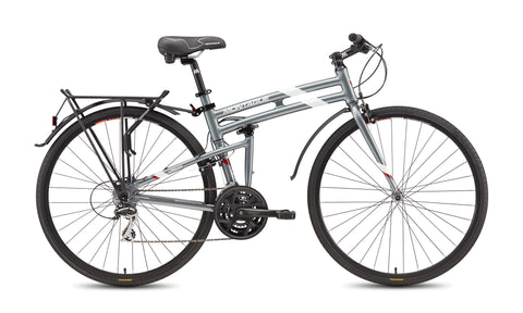 MONTAGUE Urban Folding Road Bike with Rackstand (+FREE! Montague Bike Bag)