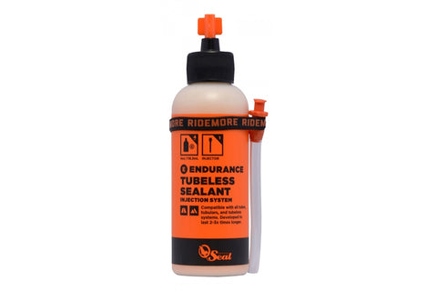 ORANGE SEAL Endurance Tubeless Sealant with Twist Lock Applicator + Injector