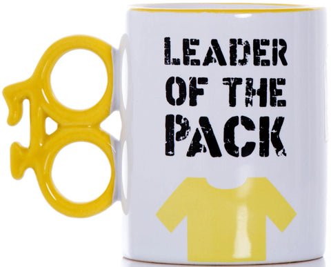 Leader of the Pack Boxed Gift Mug: Cyclists, Cycling, Rouleur, Tour de France