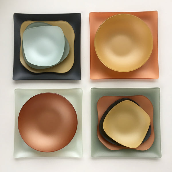 SeaGlass & RDG | Sustainable glass dishes and dinnerware - art for your table ...