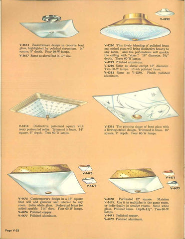 Virden Lighting Catalog 1959
