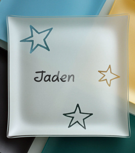 "Engraved of 13"" Stars Plates With Purpose™"