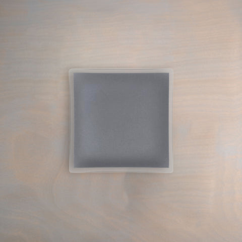 "7"" Square Graphite Architect Plate"