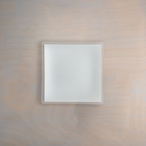 "7"" Square Pearl Plate Architect"