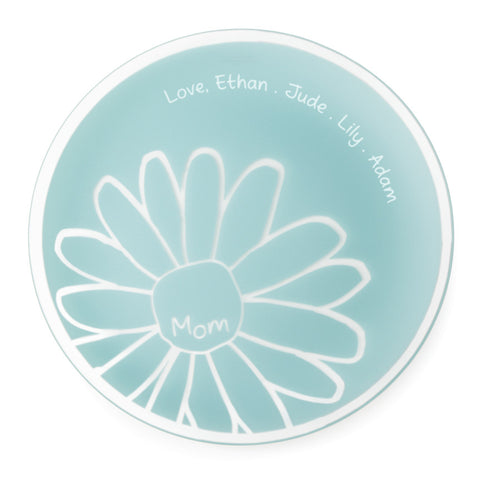 "Engraved 13"" Mom Platter"