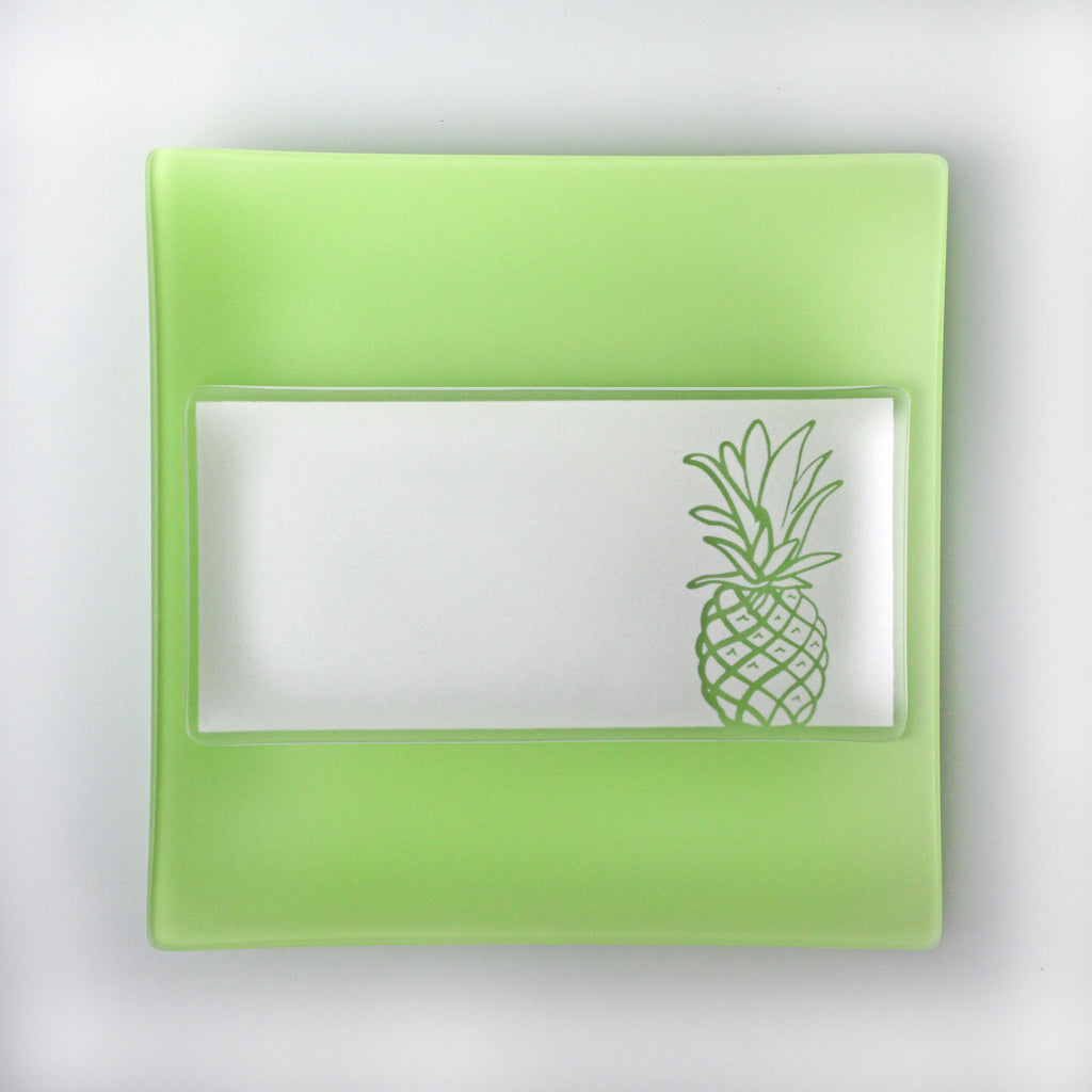 5x10 inch Pineapple Plates with Purpose™ for Family House