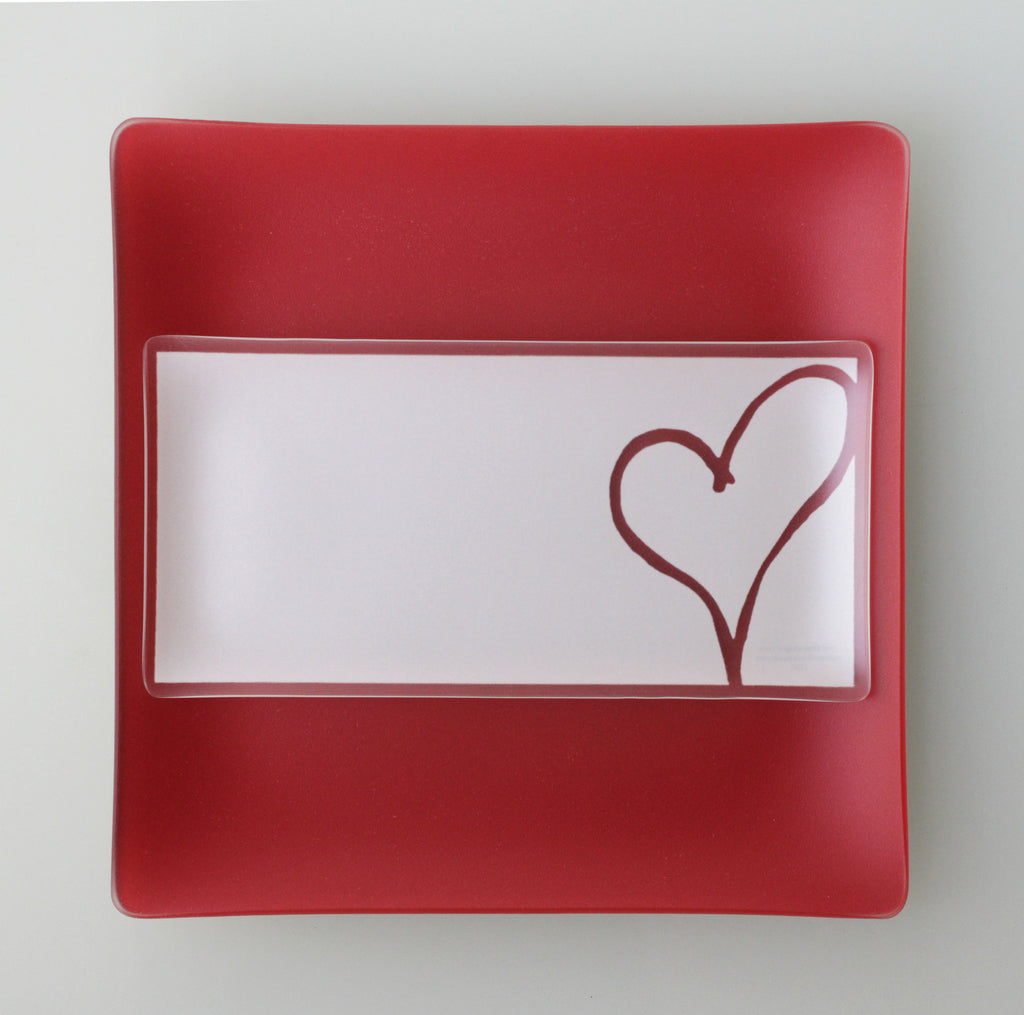 5x10 inch Heart Plates With Purpose™ for Habitat for Humanity