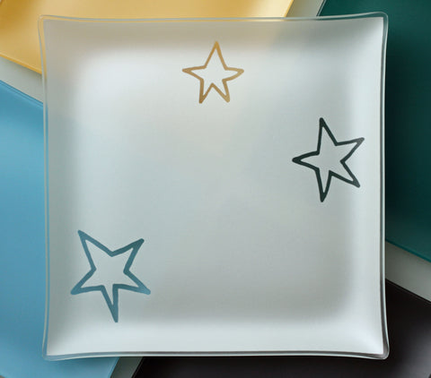 13 inch Stars Plates With Purpose™ for benefiting AIDS organizations