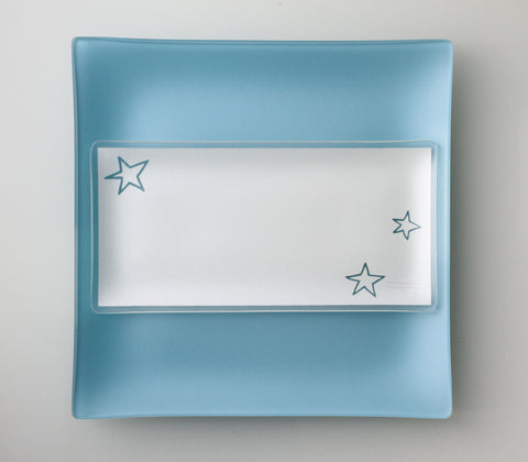 5x10 inch Stars Plates With Purpose™ for benefiting AIDS organizations