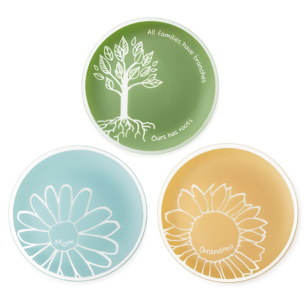 "Family Collection: 13"" Mom, Grandma or Family Roots Platter"