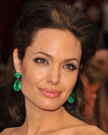 angelina jolie eyebrow transformation after
