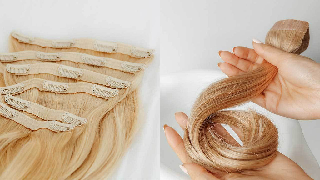 how to store hair extensions