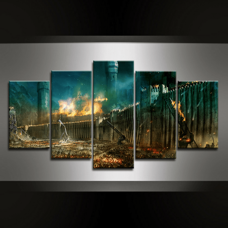 5 Piece LOTR Canvas Wall Art