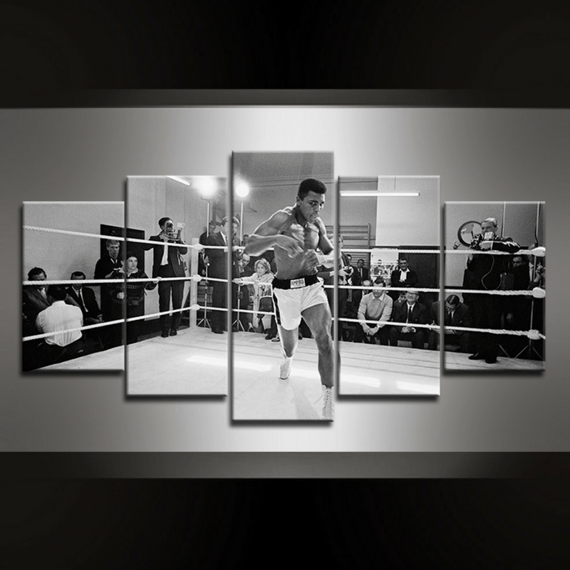 5 Piece Ali I Canvas Wall Art