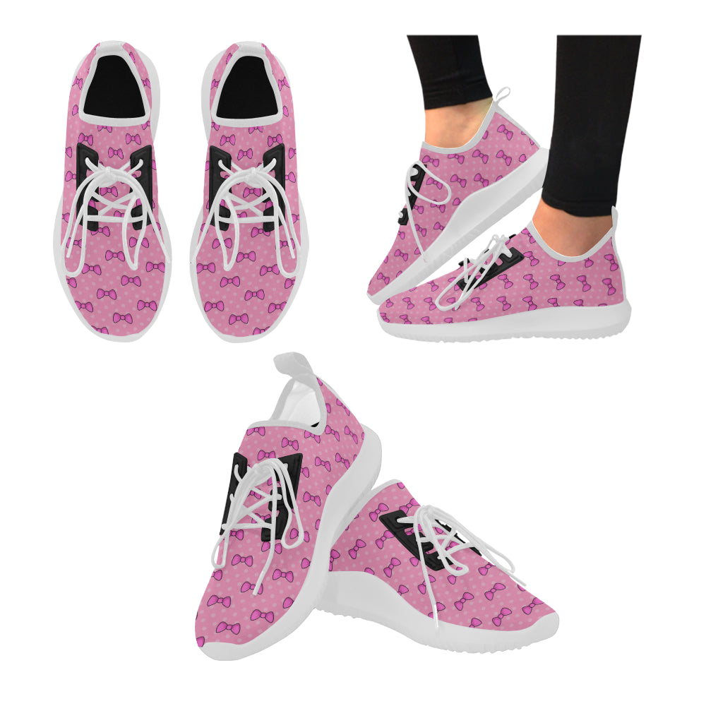 Minnie II White Dolphin Ultra Light Running Shoes for Women