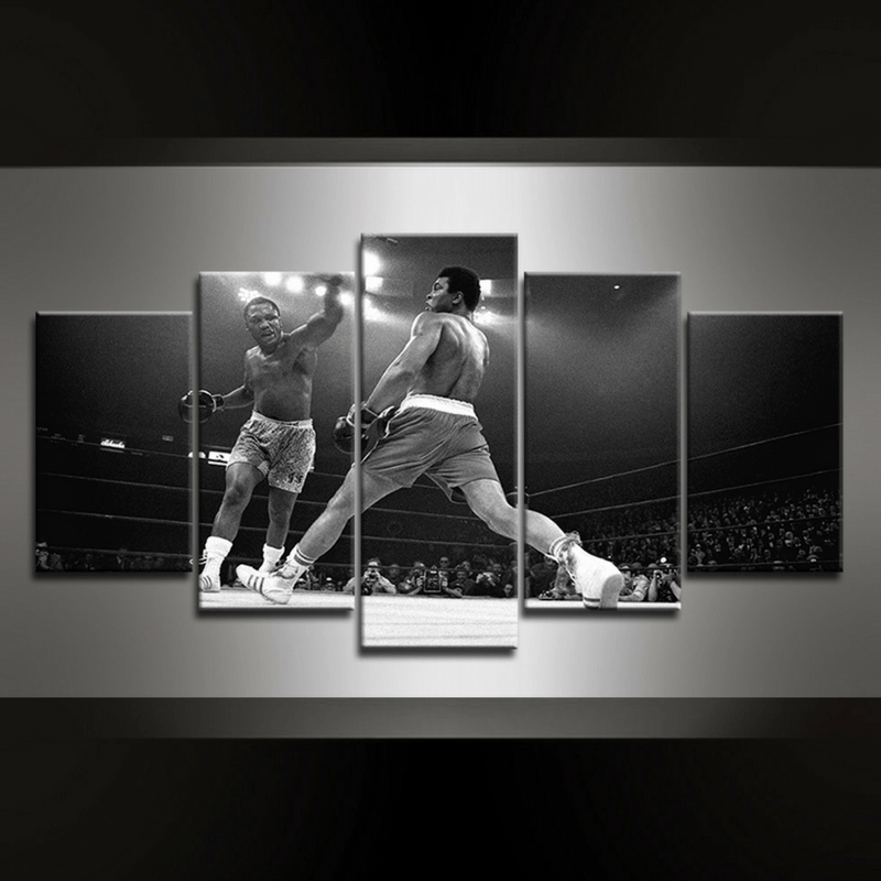 5 Piece Ali II Canvas Wall Art
