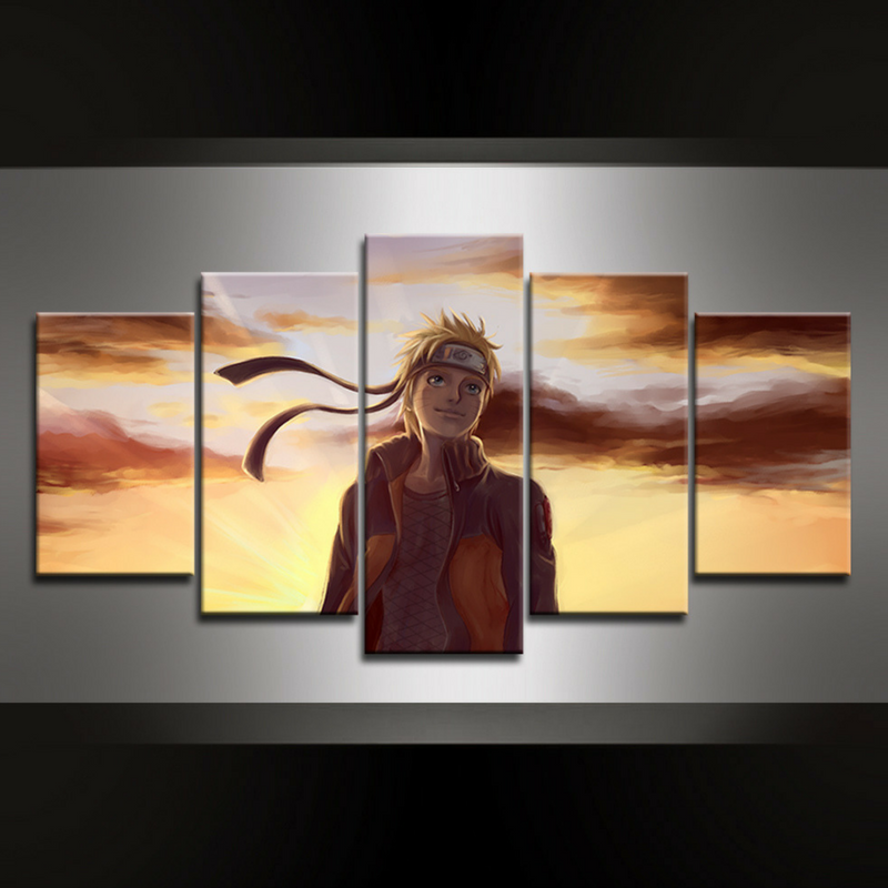 5 Piece Naruto Hope Wall Art