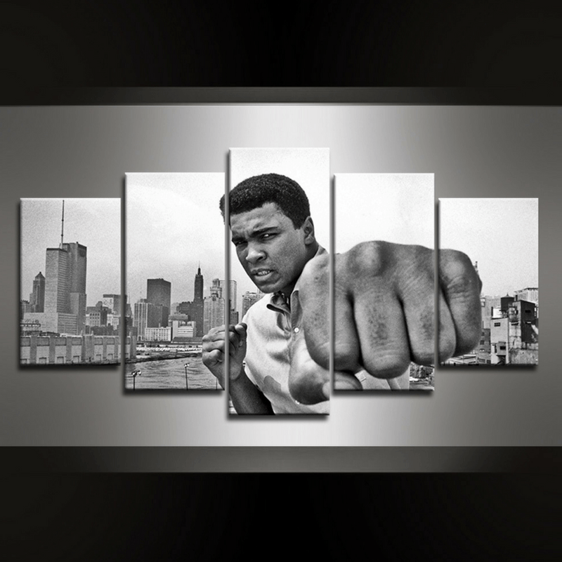 5 Piece Ali III Canvas Wall Art