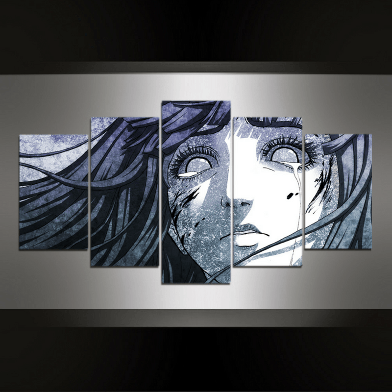 5 Piece Naruto Canvas Wall Art Series