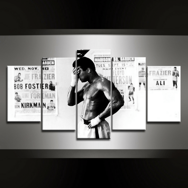 5 Piece Ali IV Canvas Wall Art