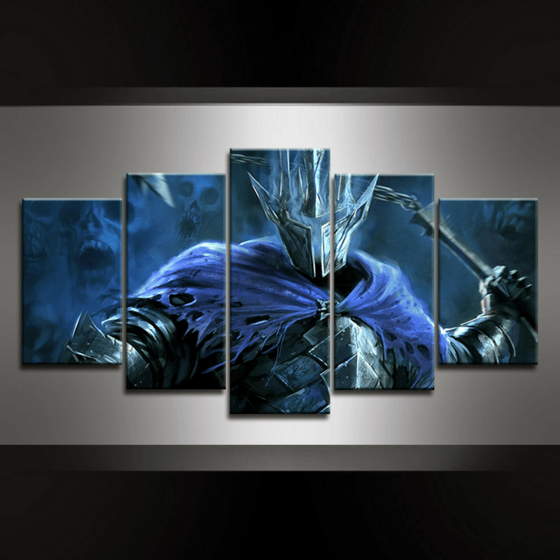 5 Piece Nazgul Canvas Wall Art
