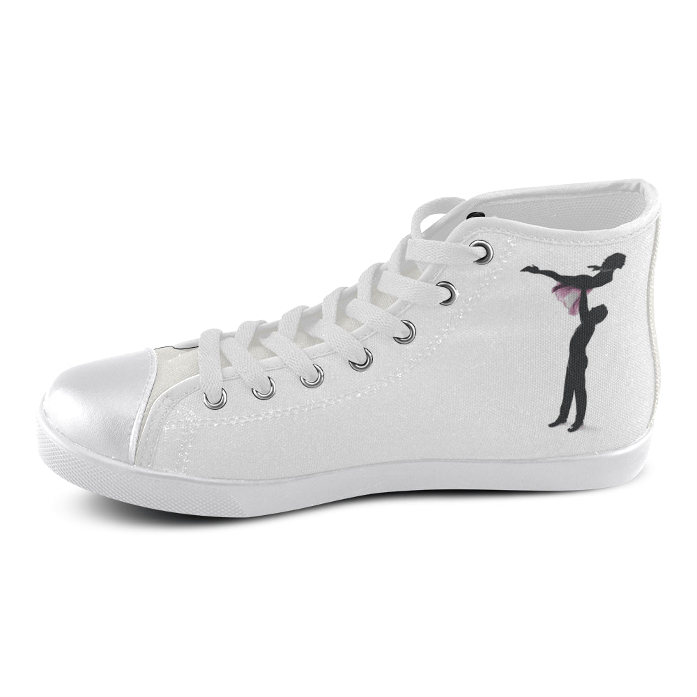 Dirty Dancing Women's High Top Canvas Shoes