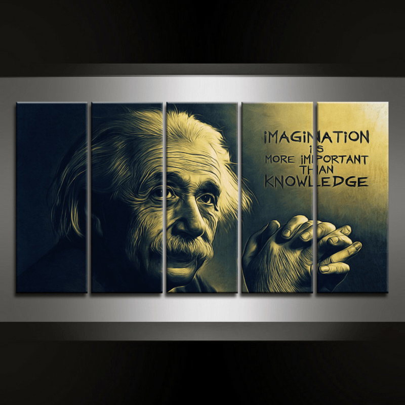 5 Piece Imagination Canvas Wall Art