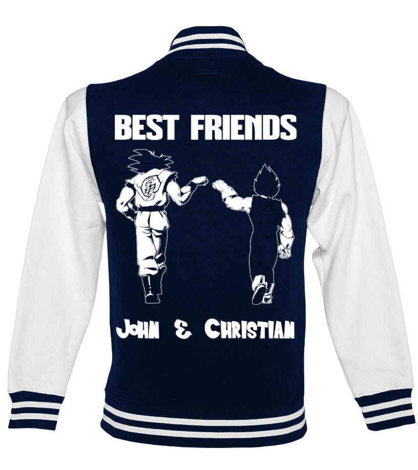 Best Friends College Jacket with Your Name on it (70% OFF only today)