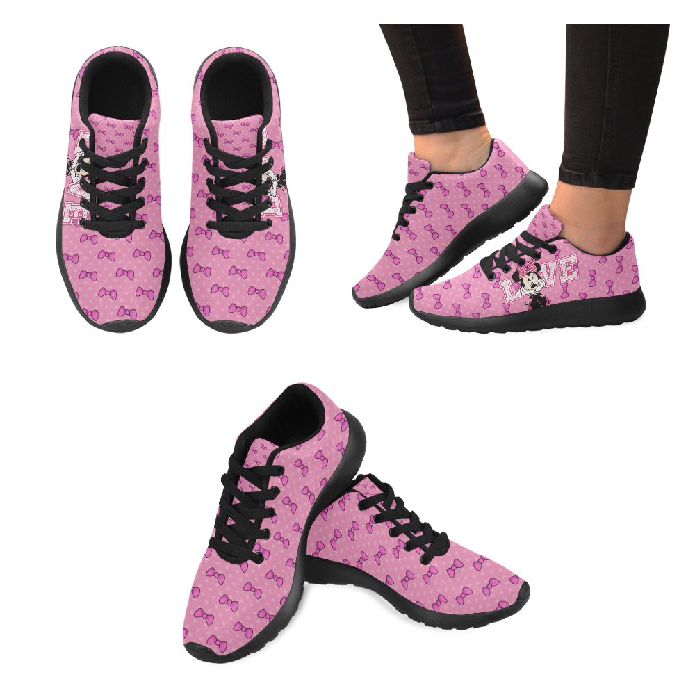 Minnie Love II Black Women's Running Shoes