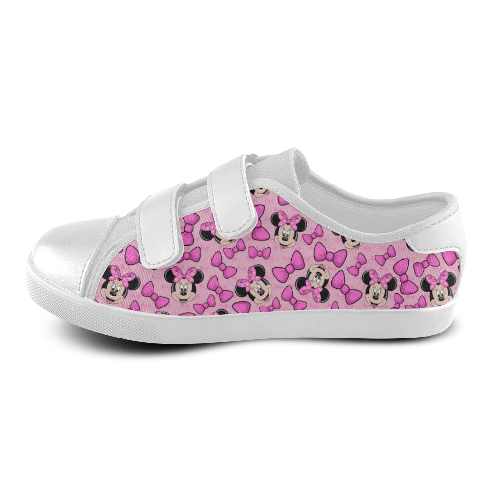Minnie Velcro Canvas Kid's Shoes