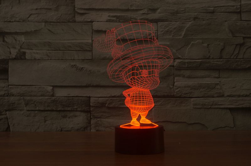 Tony Chopper 3D-Lamp