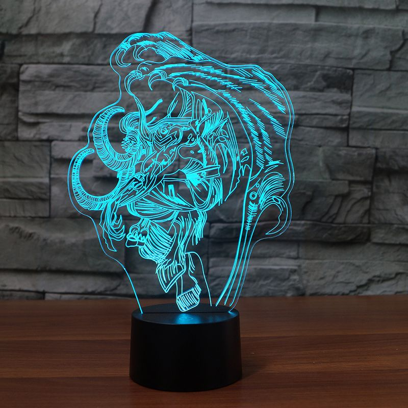 Illidan 3D-Lamp