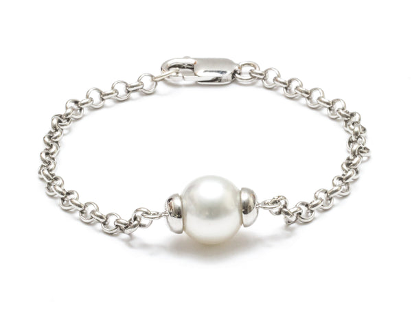 12MM Australian South Sea Pearl Chain Bracelet