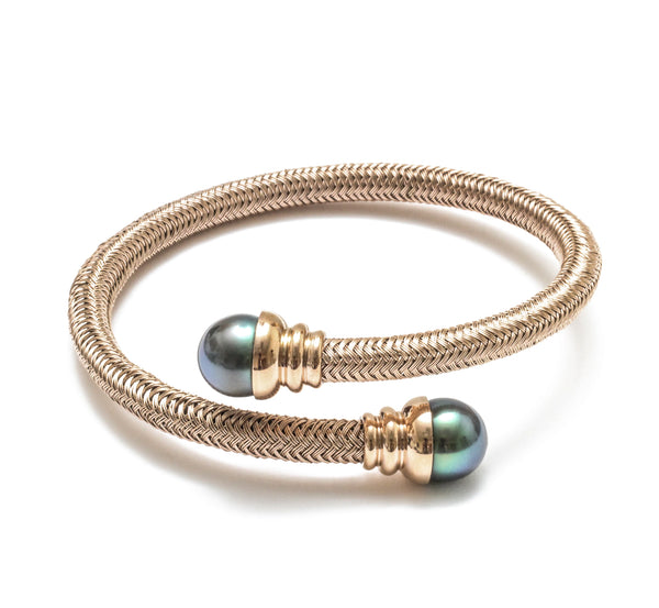 Tahitian Pearl Flex Bangle