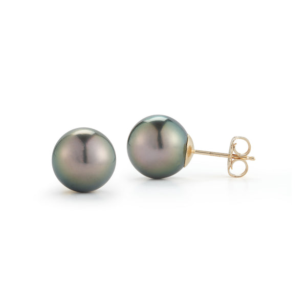 The Classic Tahitian Pearl Earrings