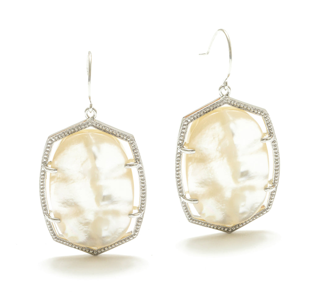 Anapa Mother Of Pearl Earring