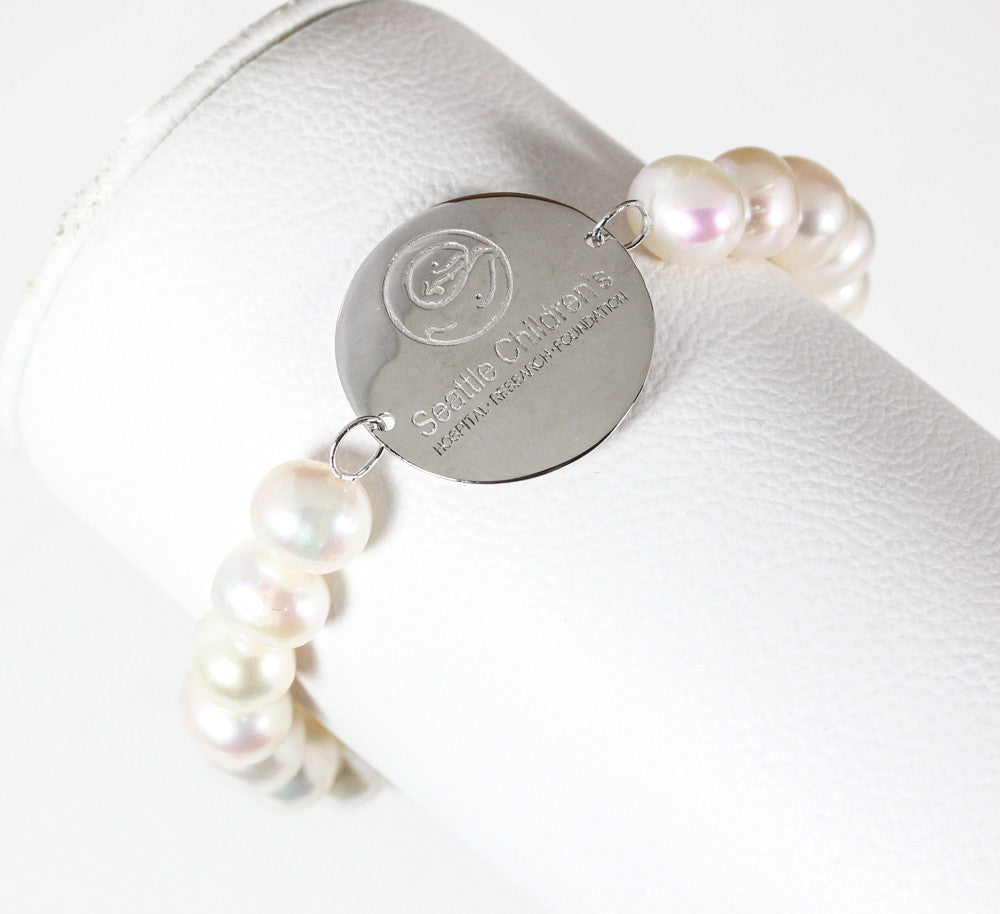 Limited Edition Seattle Children's Hospital Pearl Bracelet