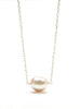 9-10MM Baroque Freshwater Floating Pearl Pendant (Esther's Neckalce)