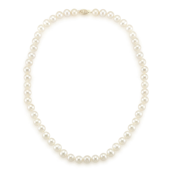7-8 MM Princess Length Freshwater Pearl Necklace