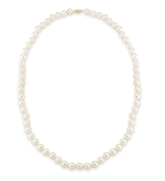 9-10MM Matinee Length Necklace