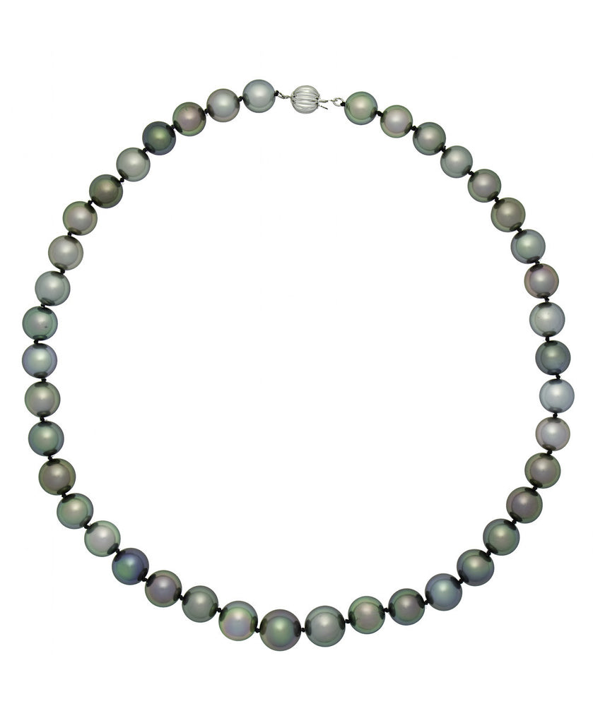 Poe Rava Multi Natural Color Tahitian Pearl Necklace