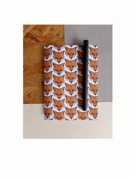 Fox | Illustrated Animal Notebook - Merri | Illustration | Stationery + Gifts | Manchester