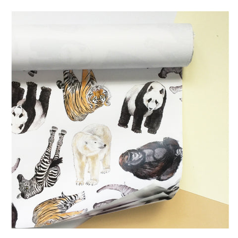 Jungle | Gift Wrap | Illustrated Animals - Merri | Illustration | Stationery + Gifts | Manchester