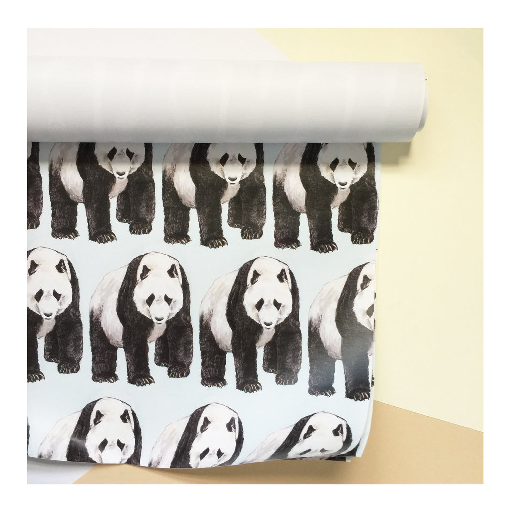 Panda | Gift Wrap | Illustrated Animals