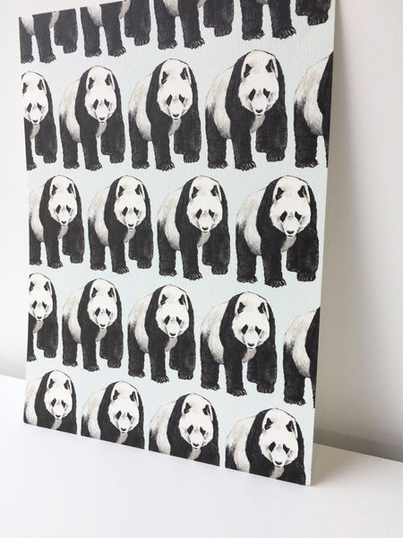 Panda | Illustrated Animal Postcard - Merri | Illustration | Stationery + Gifts | Manchester