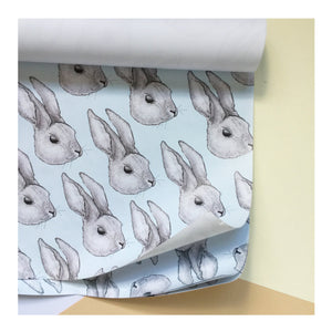 Rabbit | Gift Wrap | Illustrated Animals - Merri | Illustration | Stationery + Gifts | Manchester