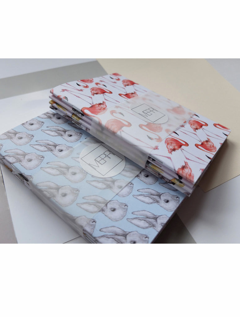 Notebook | Mix + Match | Multipacks | Illustrated Animals - Merri | Illustration | Stationery + Gifts | Manchester