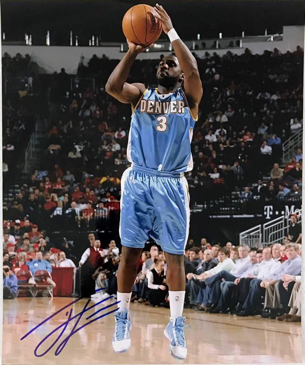 Ty Lawson Signed 8x10 Photo