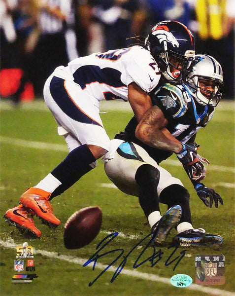 Bradley Roby Autographed 8x10 Photo from Super Bowl 50 - Latitude Sports Marketing